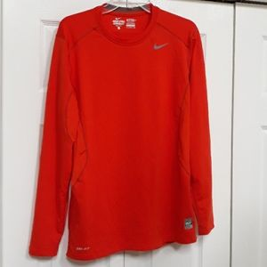Nike Pro combat Dri-Fit Fitted top Shirt size L